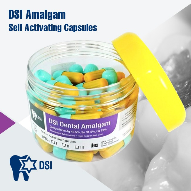 DSI Dental Amalgam Restoration Cavity Filling Material Decay Tooth Repair