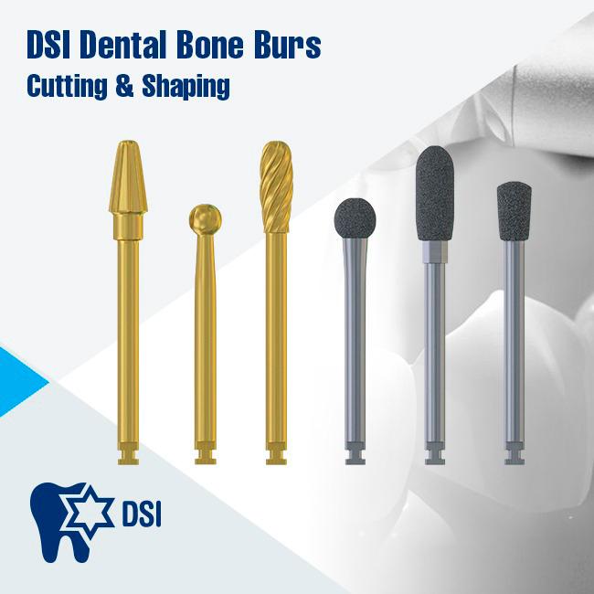 DSI Dental Bone Cutting & Shaping Surgical Burs