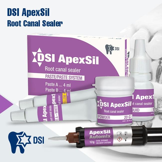 ApexSil Root Canal Sealer Paste Paste Powder Liquid