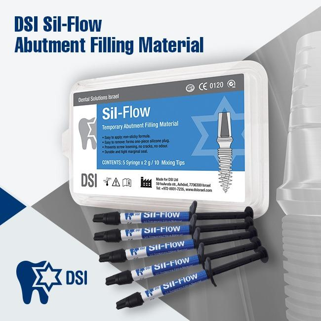 Sil-Flow DSI Abutment Sealing Material